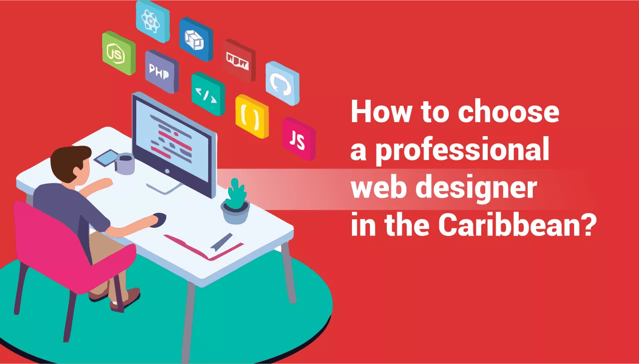 professional web design in the Caribbean