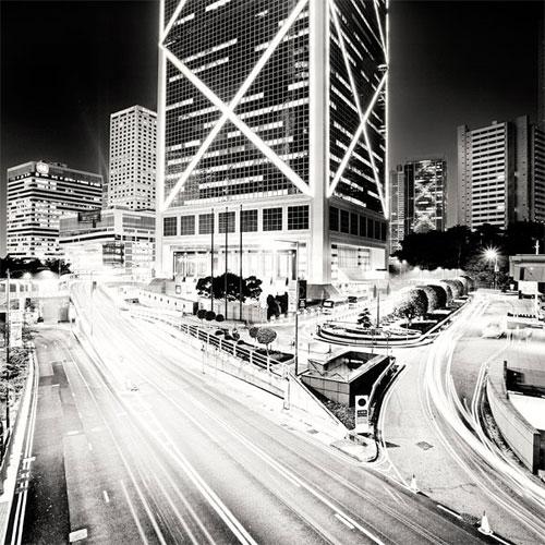 Bank of China in Hong Kong urban photography