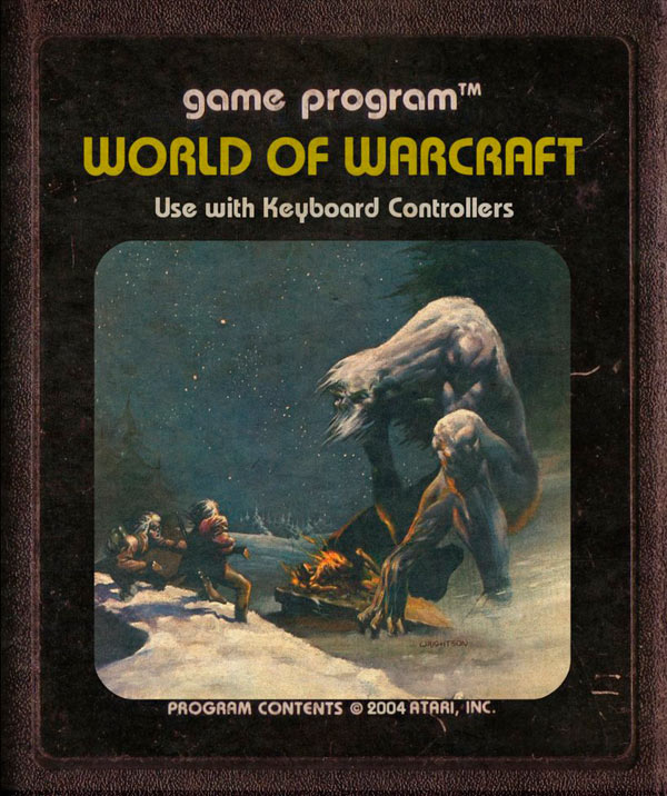 Videojuegos modernos como cartuchos de Atari - World of Warcraft