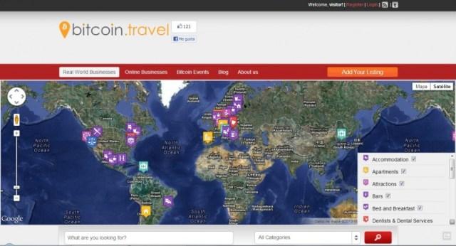 bitcoin travel - comprar usando bitcoin