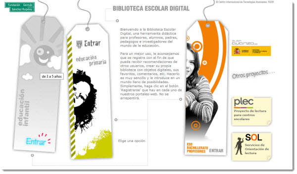 biblioteca digital escolar