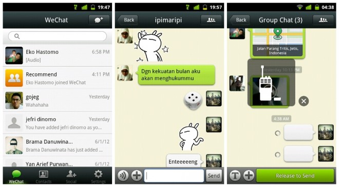 WeChat-para-android
