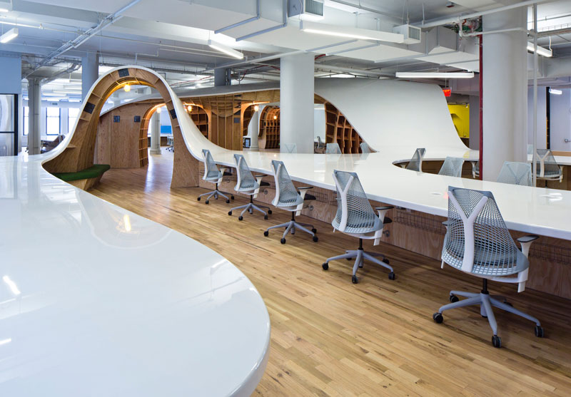 barbarian group nyc superdesk one giant office desk by clive wilkinson architects machineous (6)