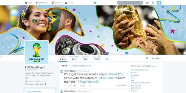 fifa world cup twitter fifa mundial