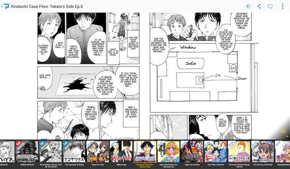 Aplicaciones Android para leer cómics y manga