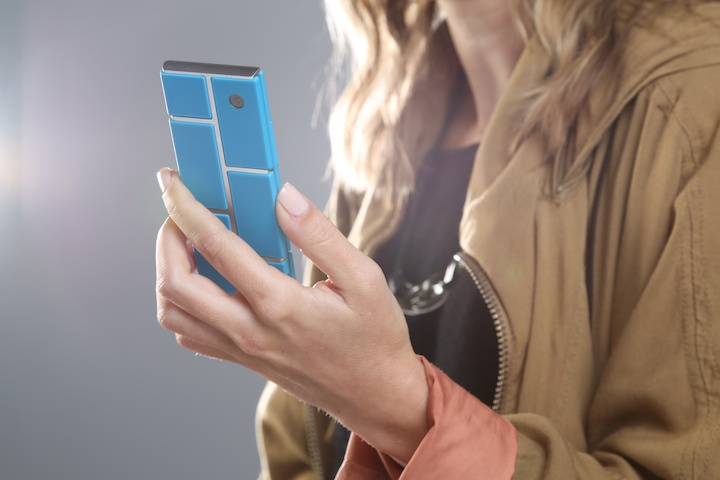 Google's advanced division's Project Ara modular smartphone