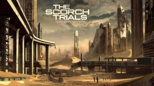 the maze runner-the schorch trials