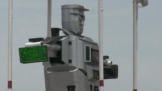robots policía