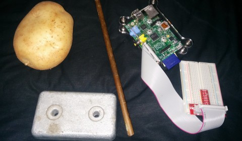 Potato Pi Parts
