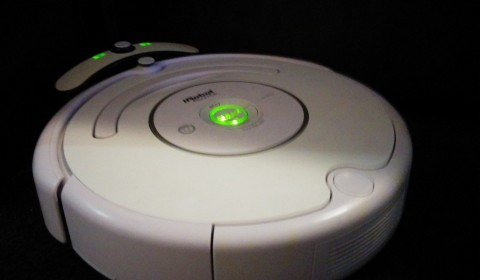 Roomba on charge