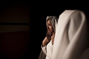 Saira, a survivor of acid violence, performs a dance