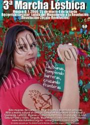 3ª Marcha Lésbica de México 2006