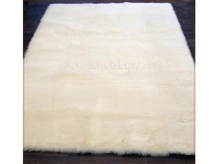 tapis pure laine vierge 70cmx140cm naturel