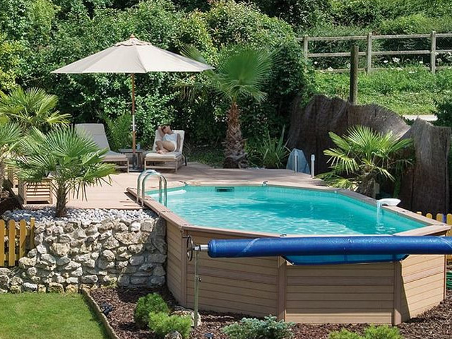 kit piscine hors sol azteck ovale 4 00 x 8 90m