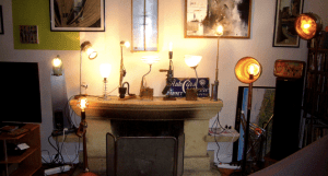 Bernard Duffour -creations-lampes-artisanales-recup
