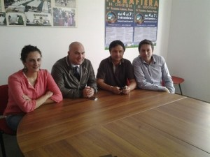 Da sinistra Fioravanti, Lucciarini, Ruggieri, Luciani