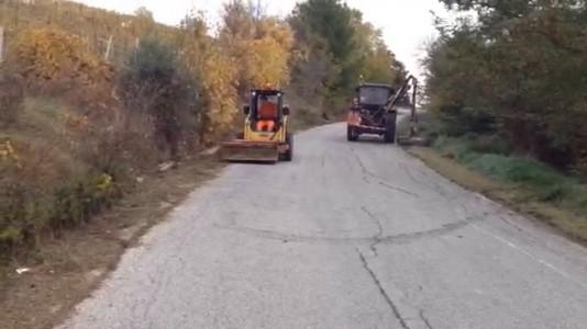 Lavori stradali nella provincia di Pesaro Urbino