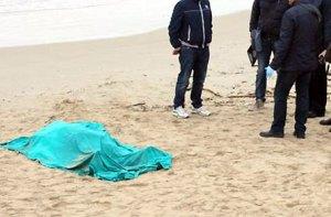 morto spiaggia