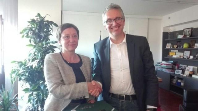 Ceriscioli incontra l'ambasciatrice ceca