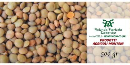 lenticchie di Montemocano