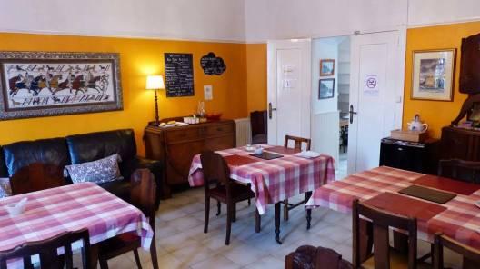 salle à manger auberge Bon Accueil