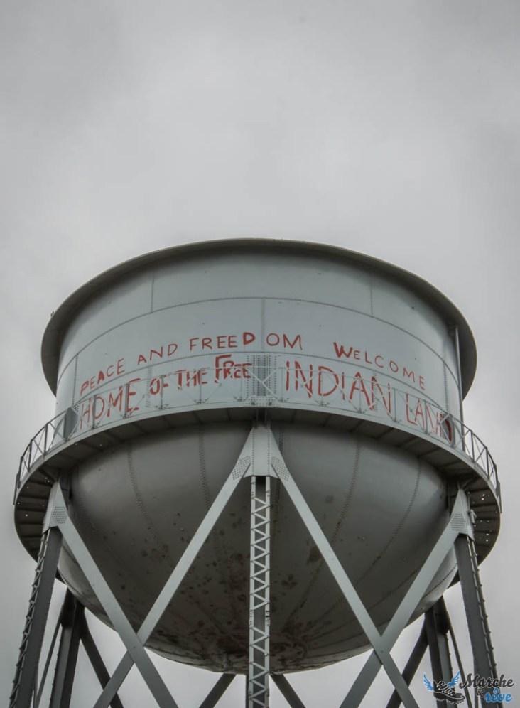 inscriptions sur les murs d'alcatraz