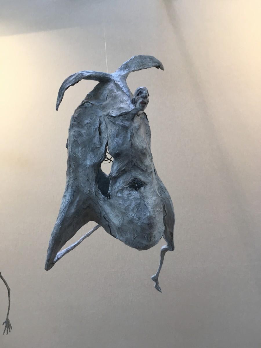 Le vol de l'oishomme - H. 51 cm