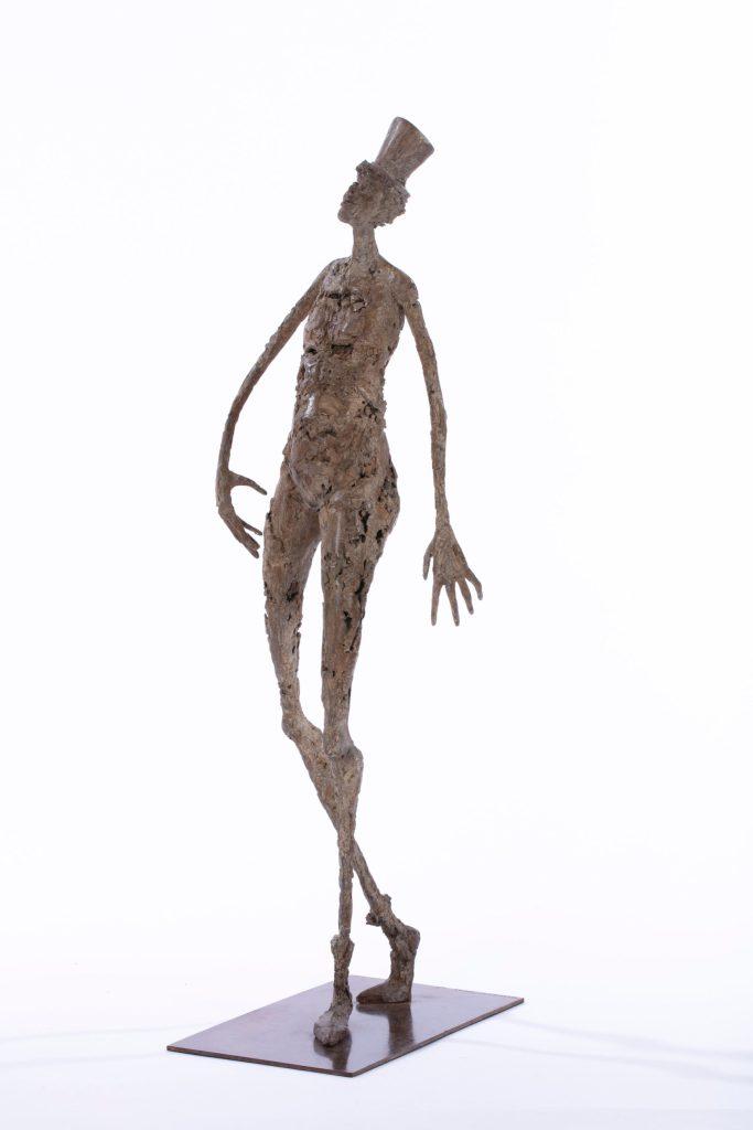 Le chapelier - H. 68 cm