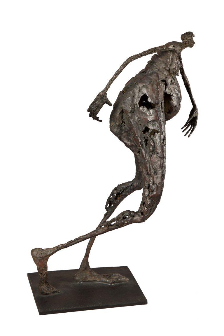 Femme en marche - H. 48 cm