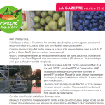 La gazette n°17 octobre 2016