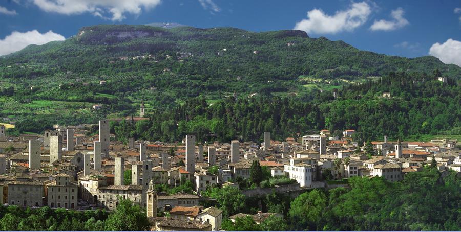 Ascoli Piceno Villages And City Of Art Riviera Delle Palme Piceno And Sibillini Mountains