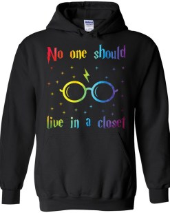 No One Should Live In A Closet Hoodie