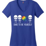 Dare To Be Yourself LGBTQ+ Ladies Perfect Weight V-Neck