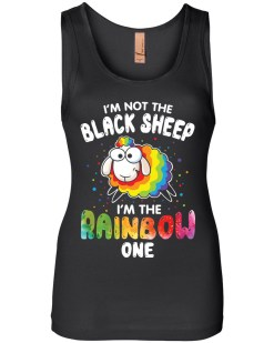 I'm Not The Black Sheep Womens Jersey Tank