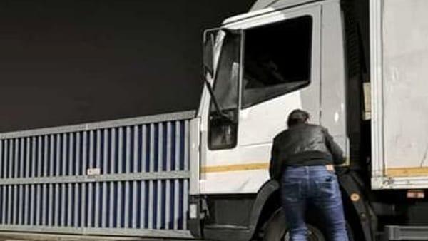Marchiodoc - Spaccata camion