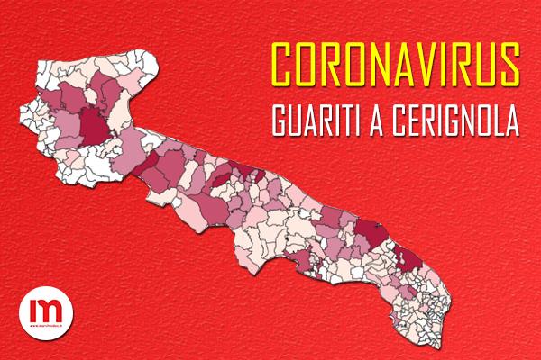 """Cerignola in """"zona lilla"""": aumentano i guariti da Coronavirus"""