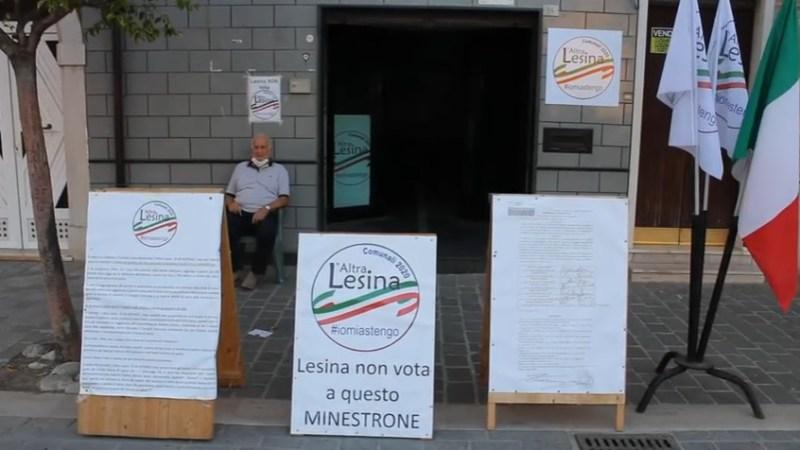 Così a Lesina l'astensionismo vince contro la Lega di Salvini   VIDEO