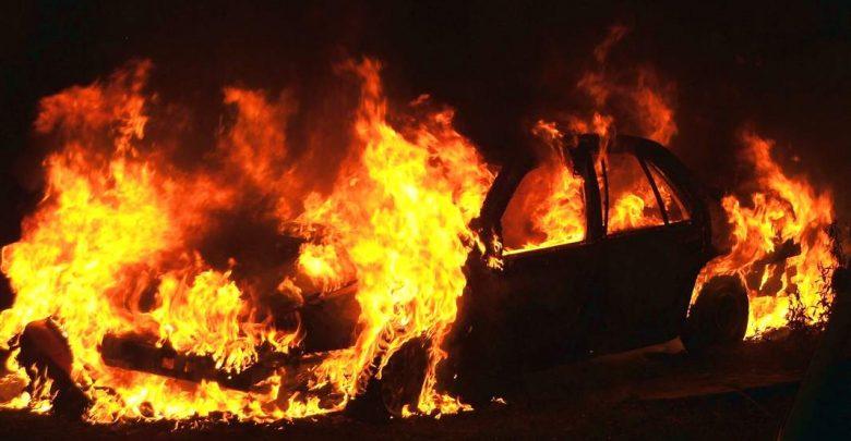 Marchiodoc - Auto incendiata