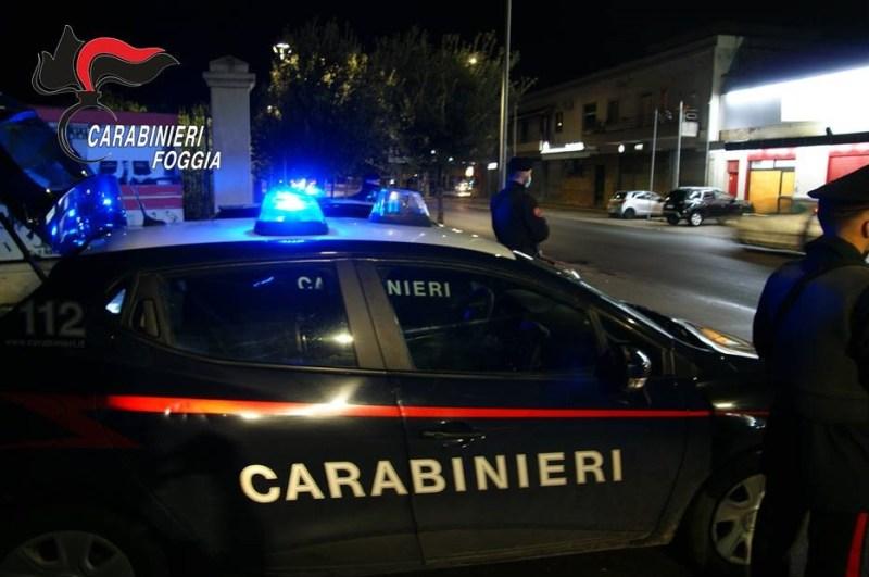 Controllate dai carabinieri oltre 400 persone: 3 arresti a Cerignola