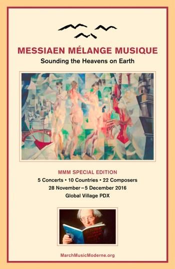Messiaen Mélange de Musique Brochure, page 1