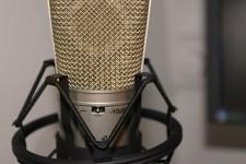 gold condenser mic