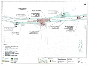 Donnybrook Hill pedestrian enhancement scheme