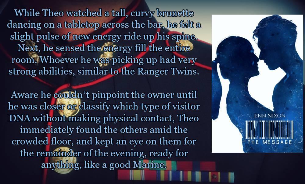 Mind, a science fiction romance series by Jenn Nixon
