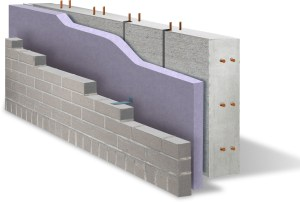 typical concrete masonry wall construction