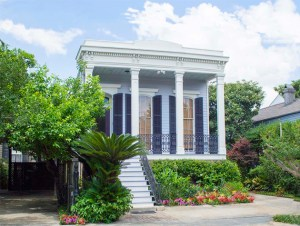 scenic photography - New Orleans house