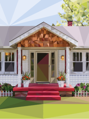 Low Poly House