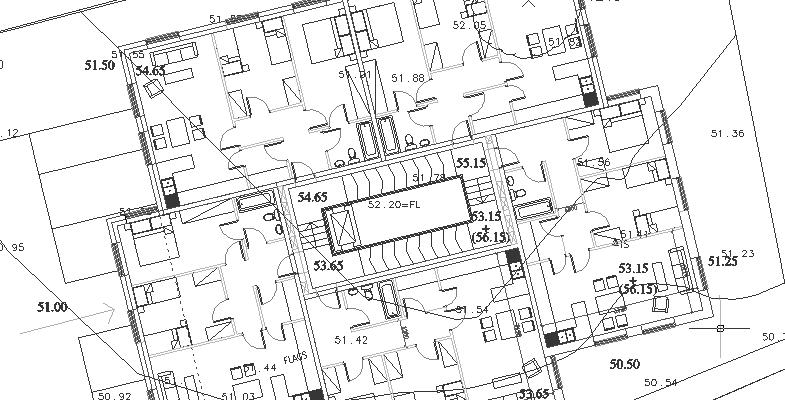 building spirals along it's ramp - GFL - architectural design - Belfast NI