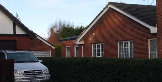 house extension after completion of work