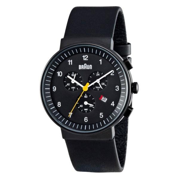 BN0035BKBKG Zwart chronograaf horloge.