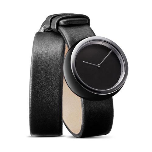 Tamawa horloge - TW35 40 met lange leren band